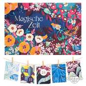 Colourful And Insect-Friendly Herbaceous Perennials, Summer Flowers And Wild Flowering Plants - Organic Seed Advent Calendar 2020
