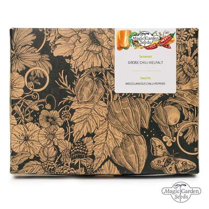 Miscellaneous Chilli Peppers - Seed kit gift box