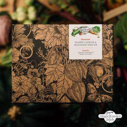 Exquisite Vegetable & Herbal Delicacies - Seed kit gift box
