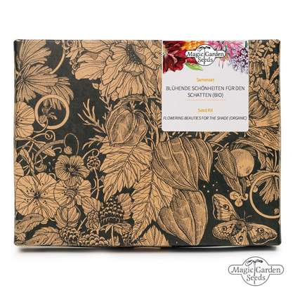 Flowering Beauties For The Shade (Organic) - Seed kit gift box