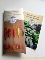 Chili cultivation set (unheated):' Basic - Bushy chilli varieties for the pot', 3 richly producing small remaining chili seed varieties with propagator #4