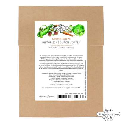 Historical Cucumbers & Gherkins - Seed kit